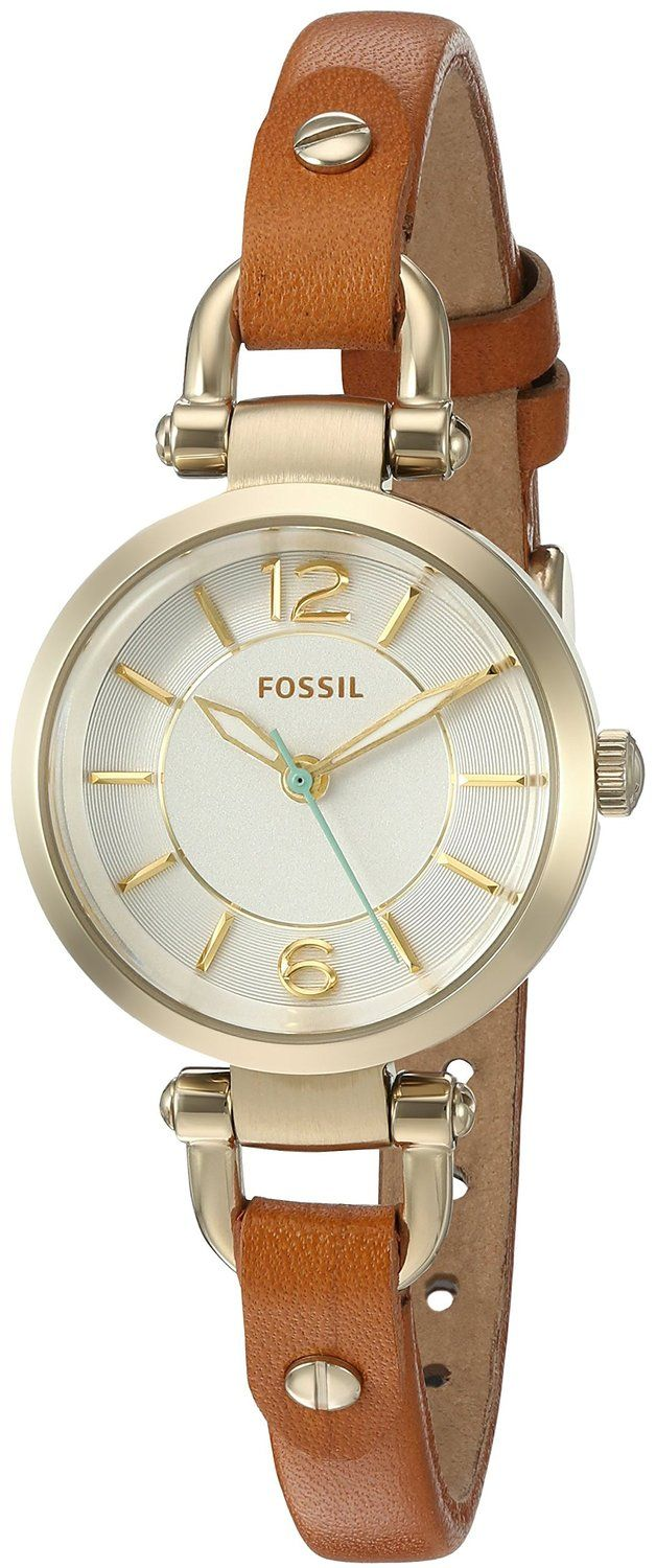 Fossil Georgia Mini Leather Watch -- Check out this great watch.