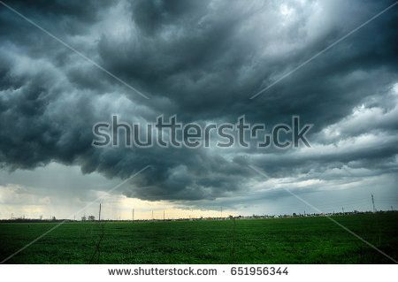 clouds and storm