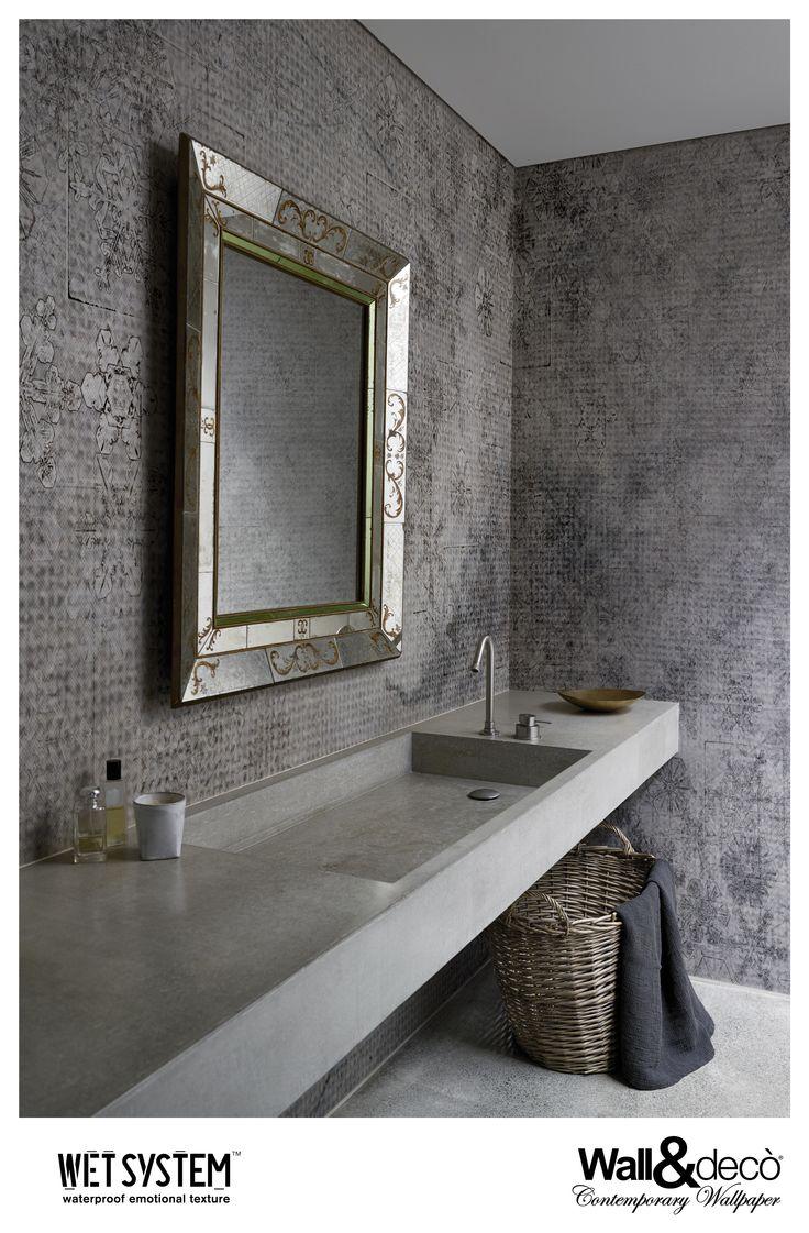 Crystal Water www.wallanddeco.com #wallpaper, #wallcovering, #wetsystem
