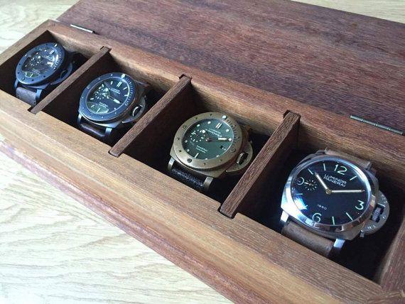 1000 ideas about personalized watch box watch box personalized watch box gifts for men watch by rustichandcrafts