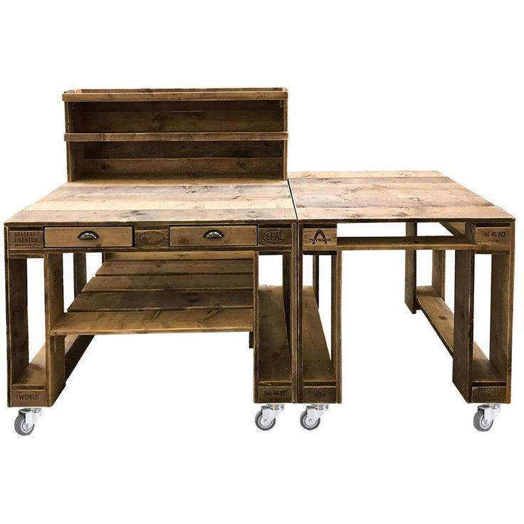 Grilltisch aus Paletten online kaufen | Exklusive Palettenmöbel