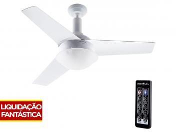 Ventilador de Teto Britânia Cancun 3 Pás - 3 Velocidades com Controle Remoto