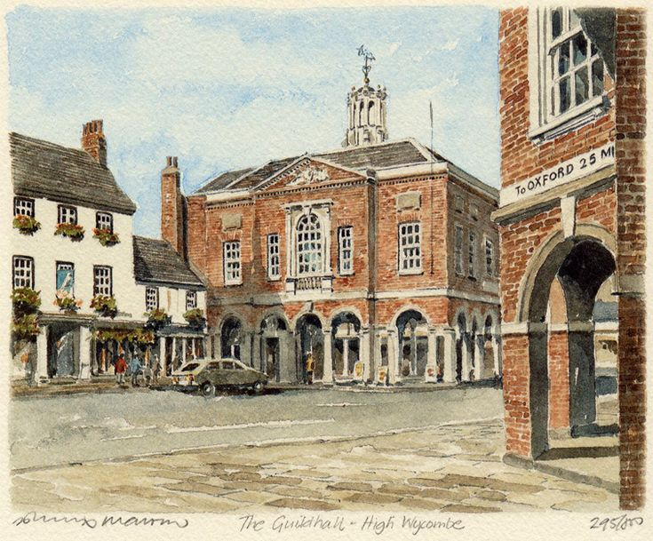 High Wycombe - Guidhall - Portraits of Britain