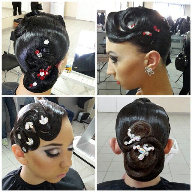 ballet hair styles 7 best hair images on ballroom 3507