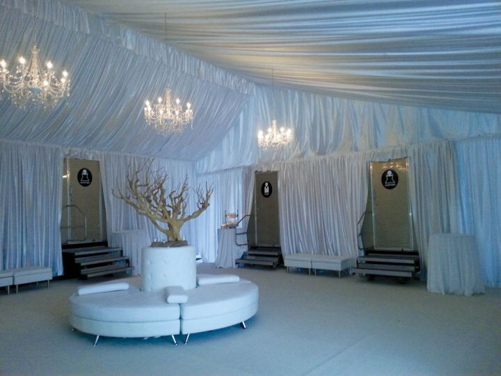 Portable restroom tent popup wedding wedding memorial