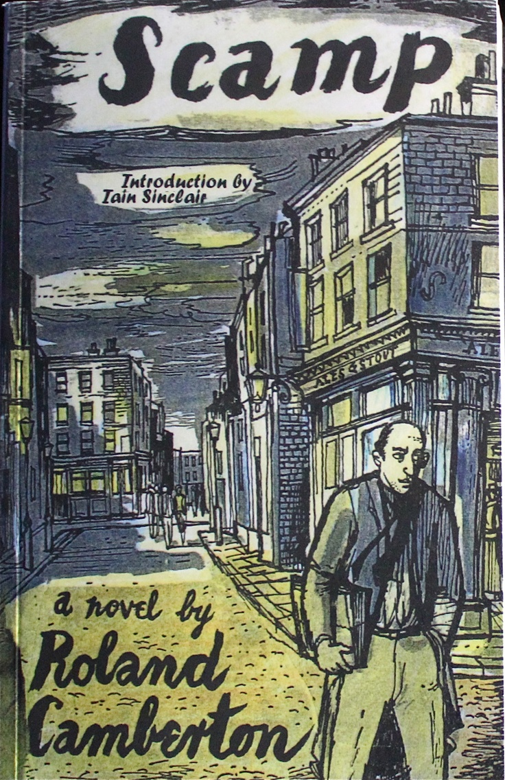 Scamp by Roland Camberton 1950 | Cover by John Minton