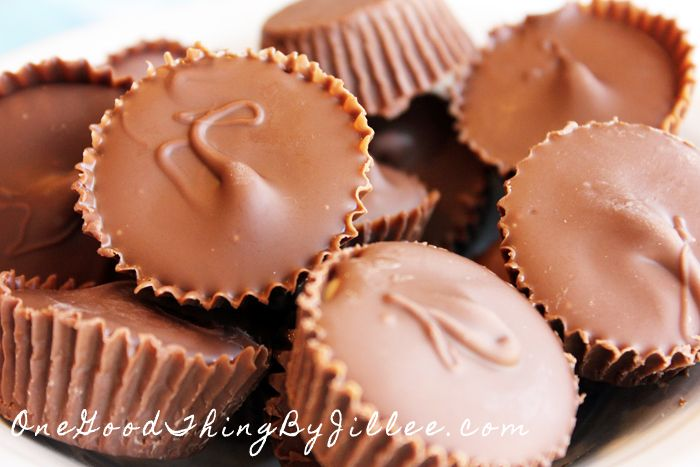 "Homemade ""Reese's"" Peanut Butter Cups 