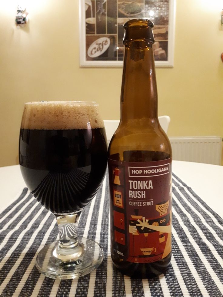 #421 Hop Hooligans Tonka Rush Coffee Stout 9%  ⭐⭐⭐⭐⭐