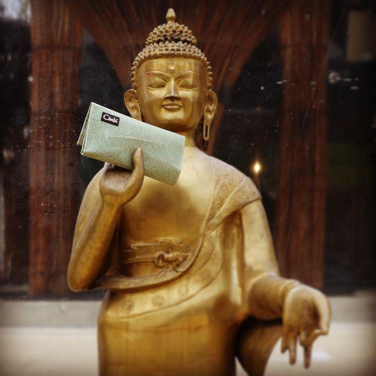 All the good people know about Cimbi! #cimbi #buddha #expo2015 #getyourcimbi #uniqlo #upcycled #creative