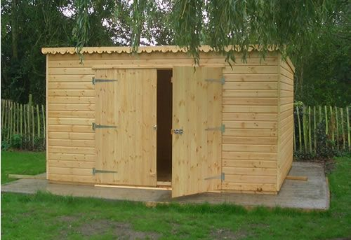 storage shed blueprints - Google Search