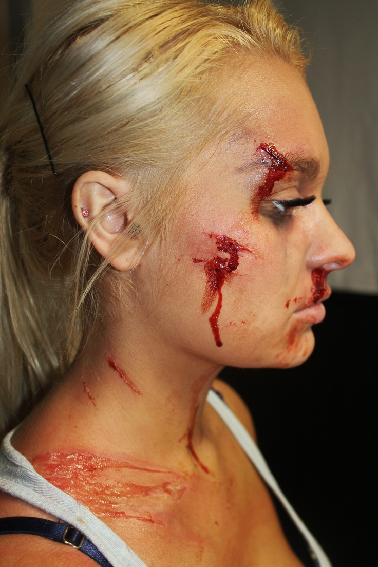 Casualty trauma - Car Accident Practice | Wounds Makeup ...