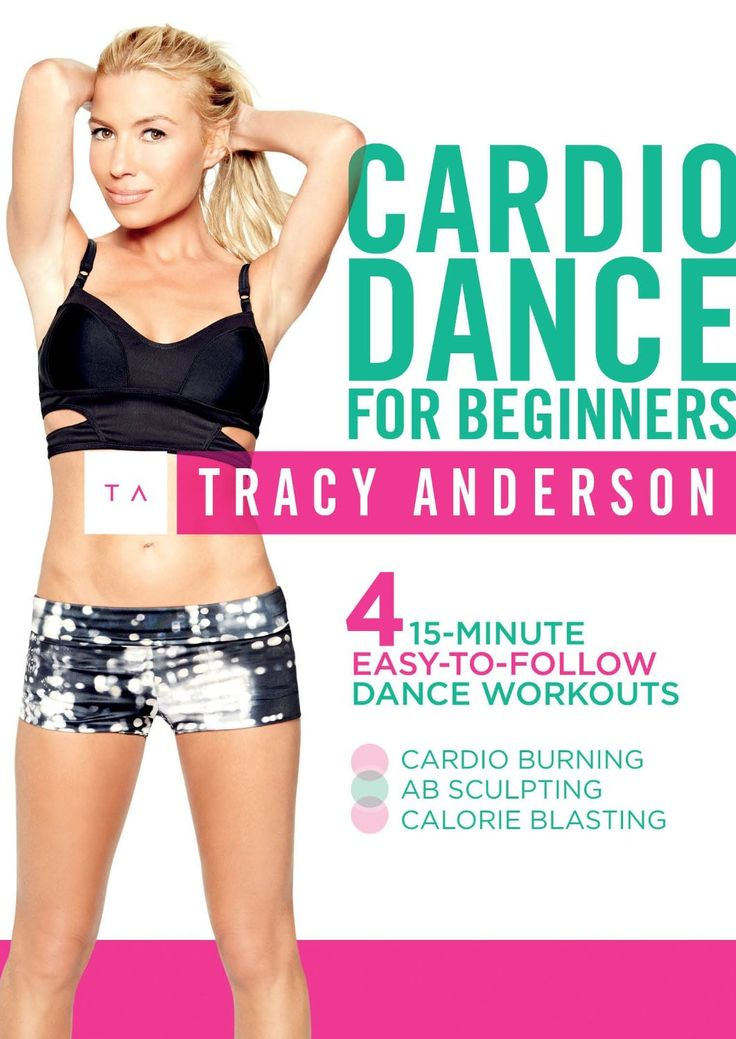 """Time 61 minutes Equipment needed: None Hooray! Tracy has blessed us with a brand new cardio DVD with 1hr (and 1 minute)'s worth of material. The DVD is described as being """"ab sculpting&…"""