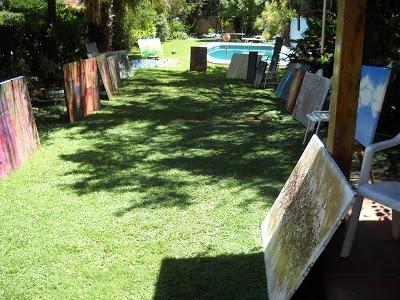 Mis obras en jardin