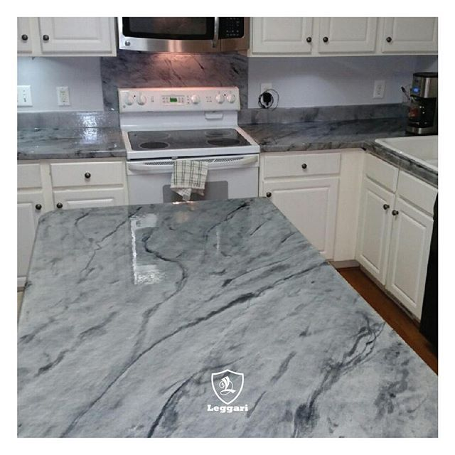 Mitchell This Kitchen Looks Amazing Love The Gray Countertops