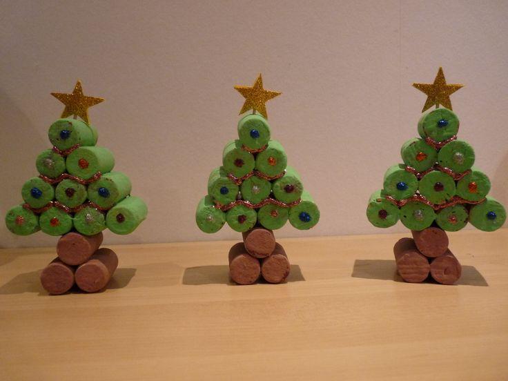 Kerstboom: kurk