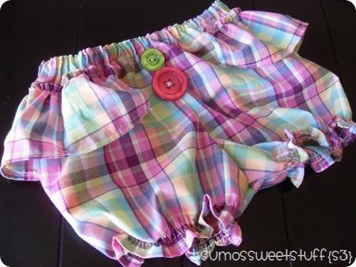 Шить шорты для девочек