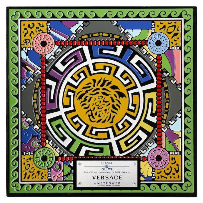 Versace La medusa stilizzata da Versace