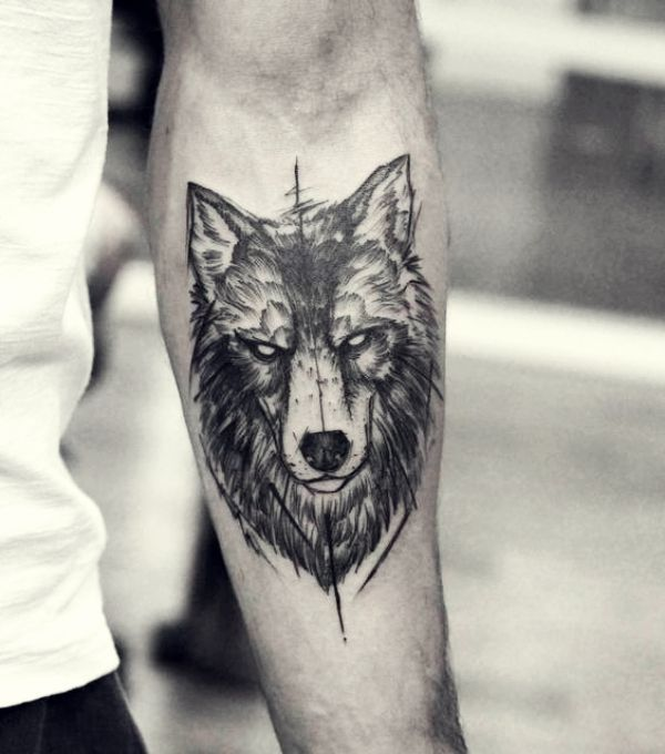 2017 trend Tattoo Trends – 40 Masculine Wolf Tattoo Designs For Men… Check mor…