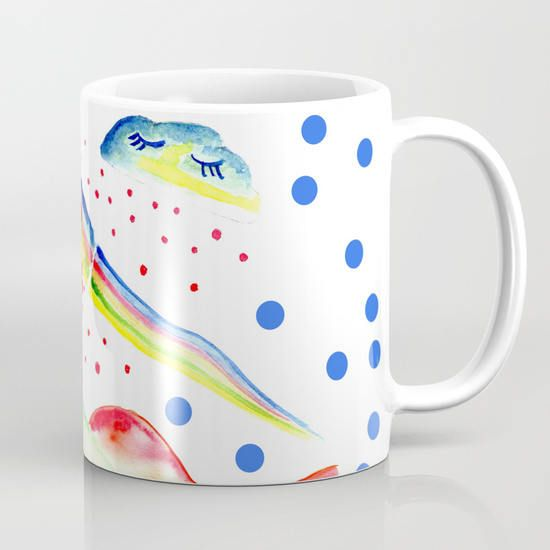 Sweet Rainbow / Tazza in ceramica / Arcobaleno
