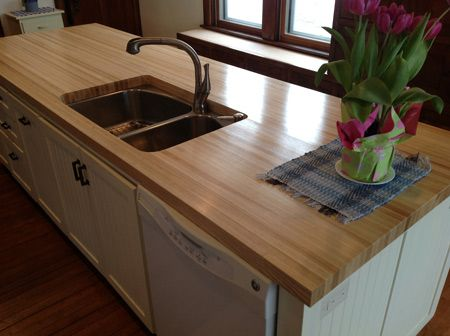 Ash Butcher Block Countertop The Sapwood Of Our Wood Countertops Is Light To Nearly White In Color And Heartwood