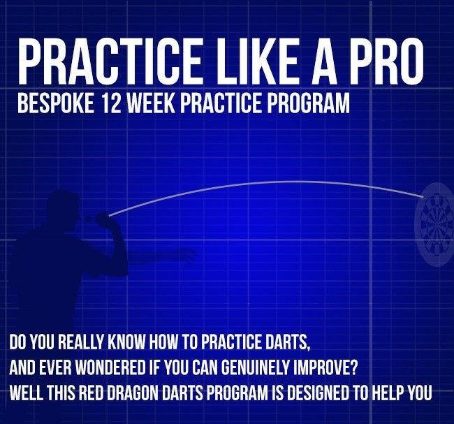 12 Week Pro Darts Practice Program