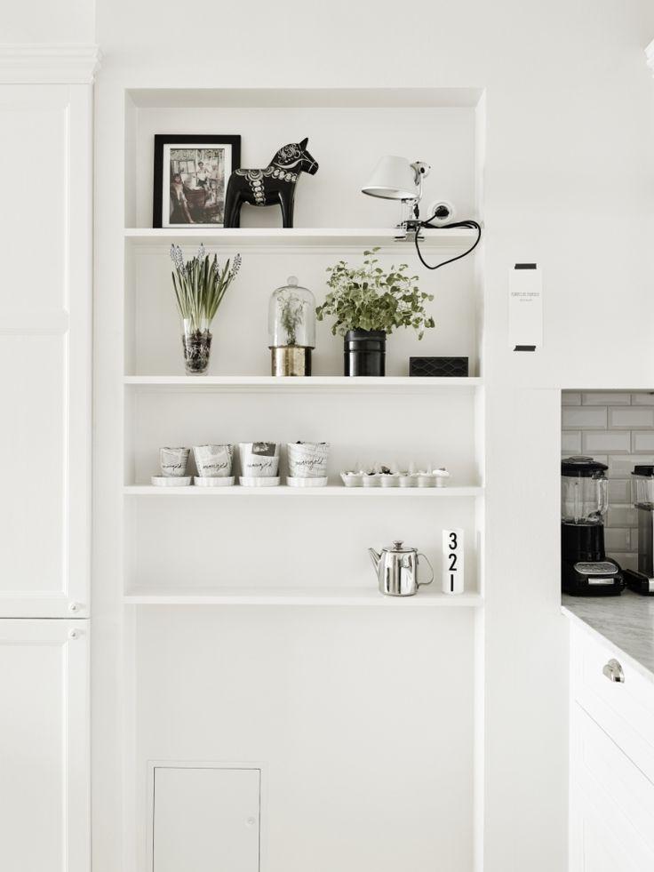 Zweeds huis vol met grijstinten