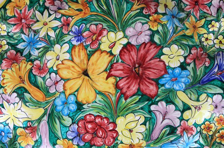 Ceramiche siciliane! Sicilian Pottery! #italia #italy #travel #sicilia #sicily #holiday #art #thegreatbeauty
