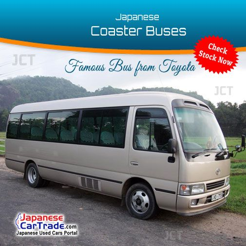 Japan Used Toyota Coaster Buses for Sale !! http://www.japanesecartrade.com/make-model/toyota-1-coaster-33.html