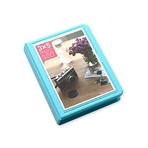 32 Pockets 5 inches DIY Candy Colorful Fuji Wide Instant Mini Book Photo Album for Fujifilm Instax WIDE 210 Films 200 Films 300 Films Fujifilm FP100C Fujifilm FP 3000B  Blue >>> ** AMAZON BEST BUY **