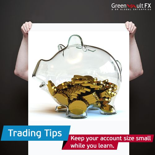 Earn more profit with less risk. Gain experience by #trading fewer lots with small account size.