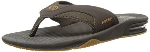Reef Fanning, Tongs homme - Marron (Brown/Gum), 39 EU (7 US) Reef http://www.amazon.fr/dp/B001BEN9H0/ref=cm_sw_r_pi_dp_x5Nzub0CMGWHG