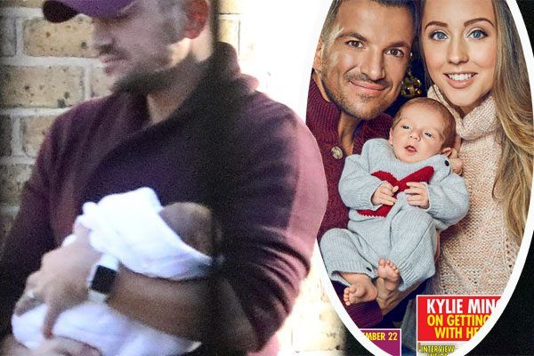 Peter Andre and Emily MacDonagh reveal all the details on their newborn son Theodore James