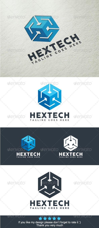 Hexa Technology Logo Template