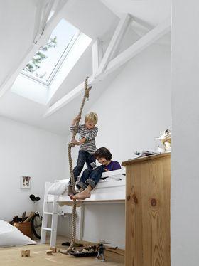 low bunk, rope ❥
