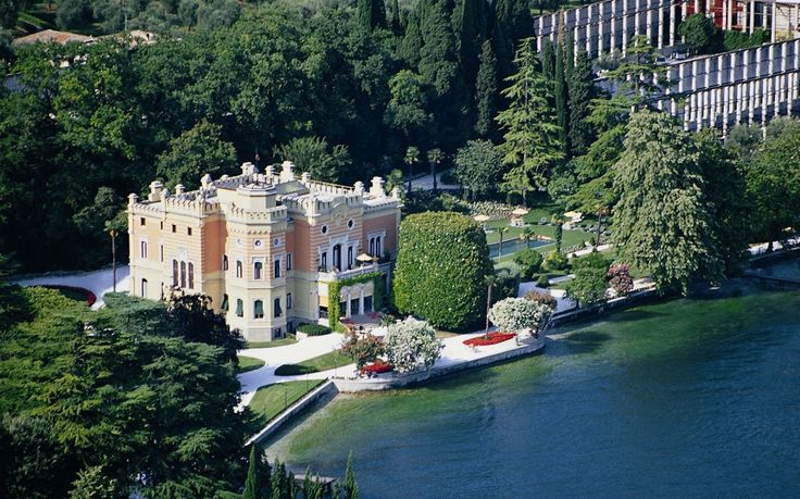 This Cinderella-esque lakeside manor is the stuff that dreams (and deep pockets) are made of. Ticking every fairytale wish, Grand Hotel Villa Feltrinelli has regal balconies, princess towers, and thousands of Venetian antiques and frescoes.