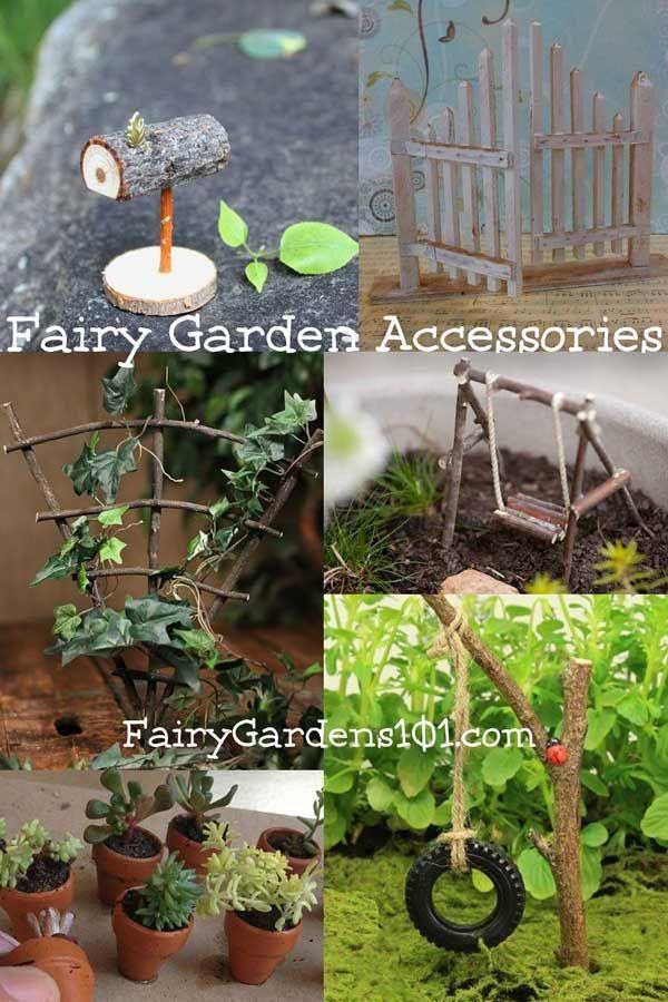 Fairy Gardens Garden Furniture, How To Make Mini Fairy Garden Furniture