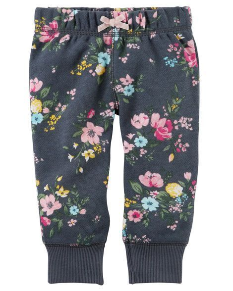 Baby Girl Brushed Fleece Pull-On Pants from Carters.com. Shop clothing & accessories from a trusted name in kids, toddlers, and baby clothes.