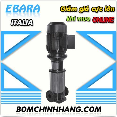 Bomchinhang.com chuyên các loại máy bơm trục đứng Ebara. May-bom-truc-dung-ebara-EVMSG3 33F5