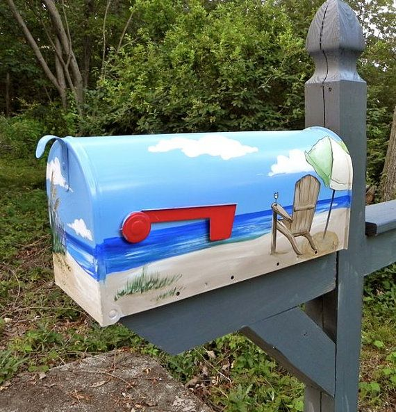30 best images about crafts painted mailbox ideas on pinterest tropical art flags and sailboats