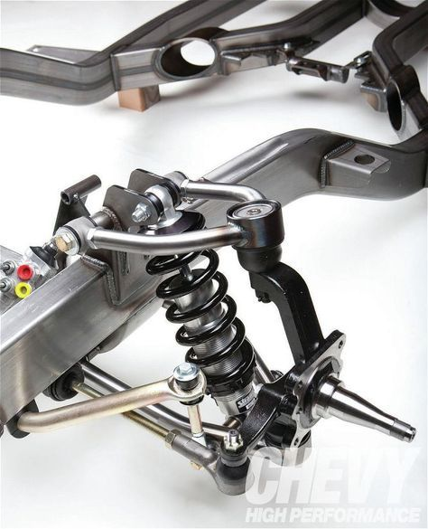Read more as chassis pros dissect the inner workings of aftermarket frames the Chevy Tri-Five here at www.chevyhighperformance.com the official website of Chevy High Performance Magazine