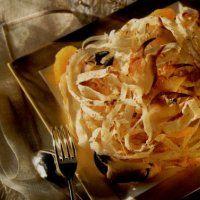 Tagliatelles de riz aux pinces de crabes et à l'orange - Cuisine et Vins de France