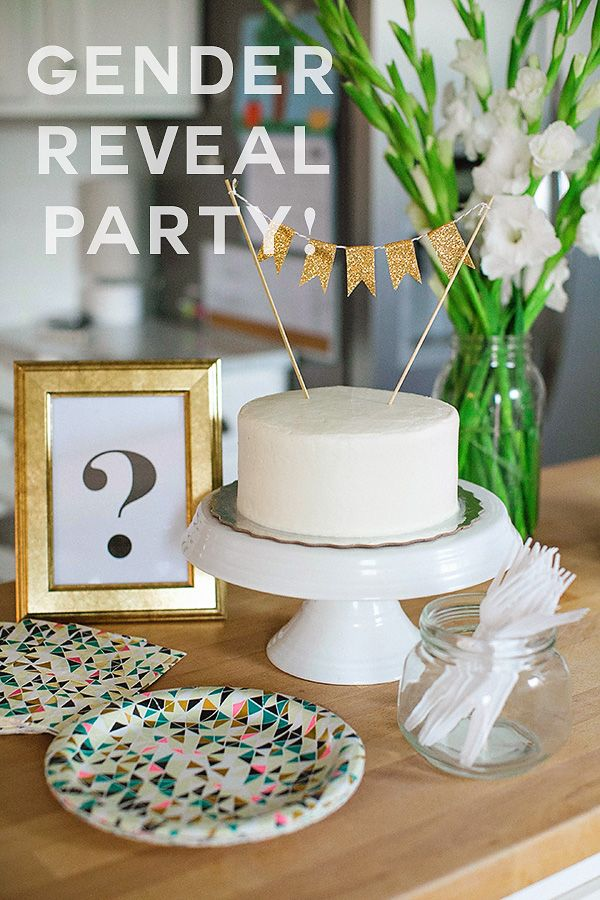 How to Host a Gender-Reveal Party | Twin Cities Moms Blog
