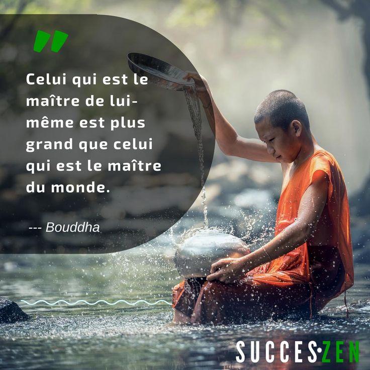Souvenez-vous : la maîtrise de soi est essentiel au #succès  #entrepreneur #zen