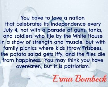 Erma Bombeck Quote
