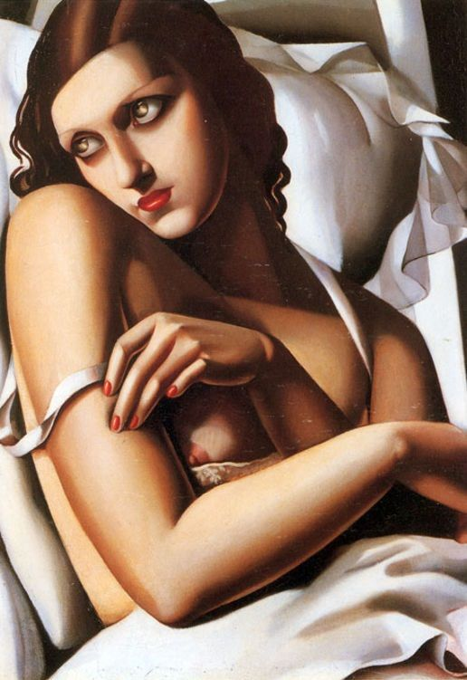 Tamara de Lempicka; The Convalescent, 1932. Amazing Art Deco painting