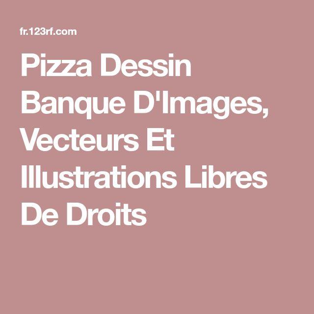 Pizza Dessin Banque D'Images, Vecteurs Et Illustrations Libres De Droits