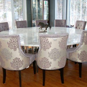 Best 25 Large Round Dining Table Ideas On Pinterest  Large Round New Big Dining Room Tables Inspiration Design