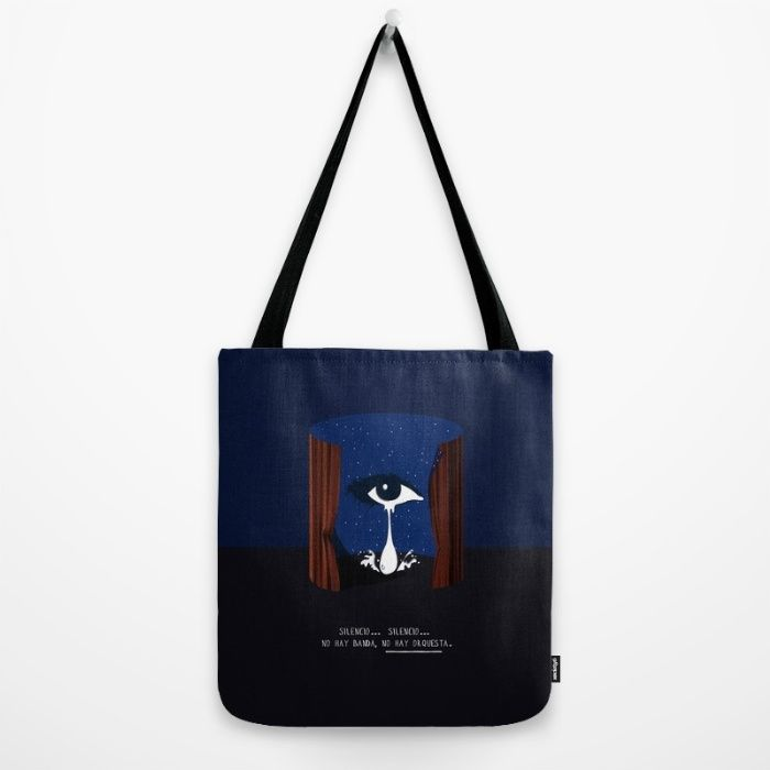 Buy mulholland drive Tote Bag by AY Palatnik. Worldwide shipping available at Society6.com. Just one of millions of high quality products available.