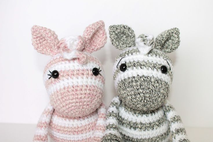 I am SOO excited to share this Free Crochet Zebra Pattern with you in a crochet along! I love how they turned out, and those adorable stripe...