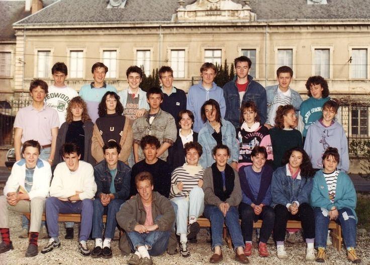 Photo de classe 1ere de 1987, Lycée Polyvalent - Copains d'avant